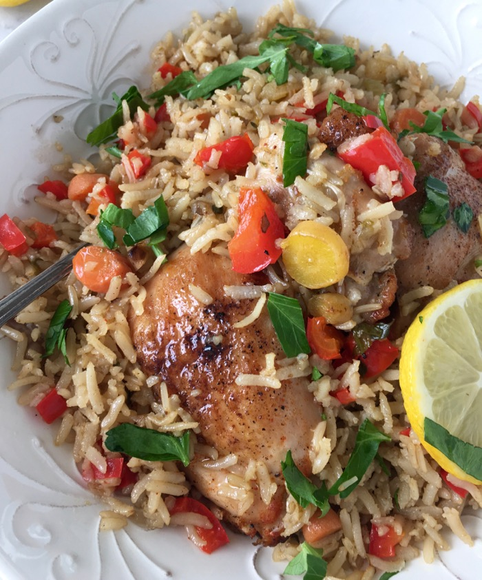 One Pot Chicken And Rice Recipe • Ciao Florentina