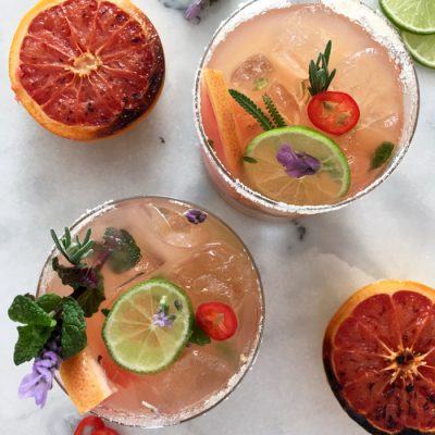 Grapefruit Mojito Recipe, the Gorgeous Hot Cooler with a Kick