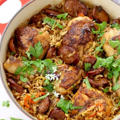Baked Chicken and Brown Rice Recipe