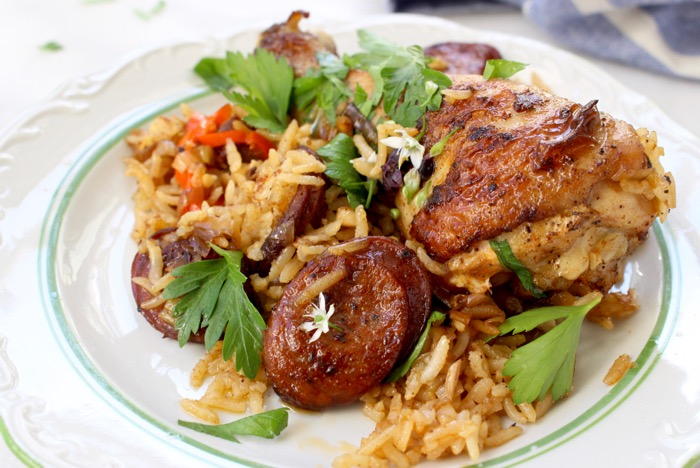 one pot chicken and rice recipe
