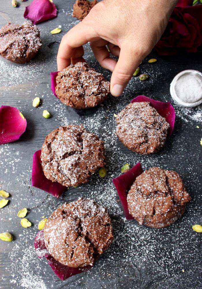 Chocolate Ricotta Muffins Recipe ( Olive Oil Muffins )