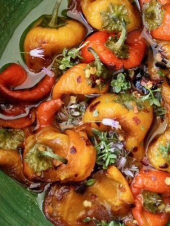 Italian Roasted Pepper Salad Recipe