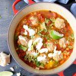 Meatball Soup Recipe ( Ciorba de Perisoare )