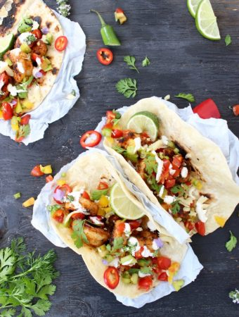 Mexican Shrimp Tacos Recipe