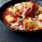 Baked Chicken Rolls Recipe in Puttanesca Sauce