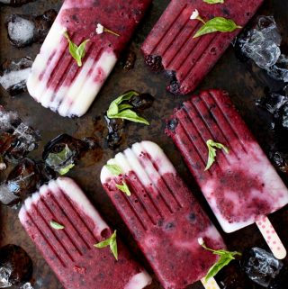 Homemade Popsicle Recipe with Mixed Berries