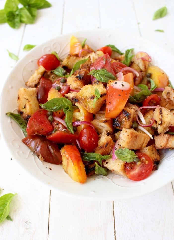 Bruschetta Panzanella Salad Recipe