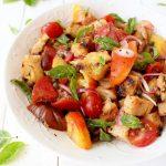 Bruschetta Panzanella Salad