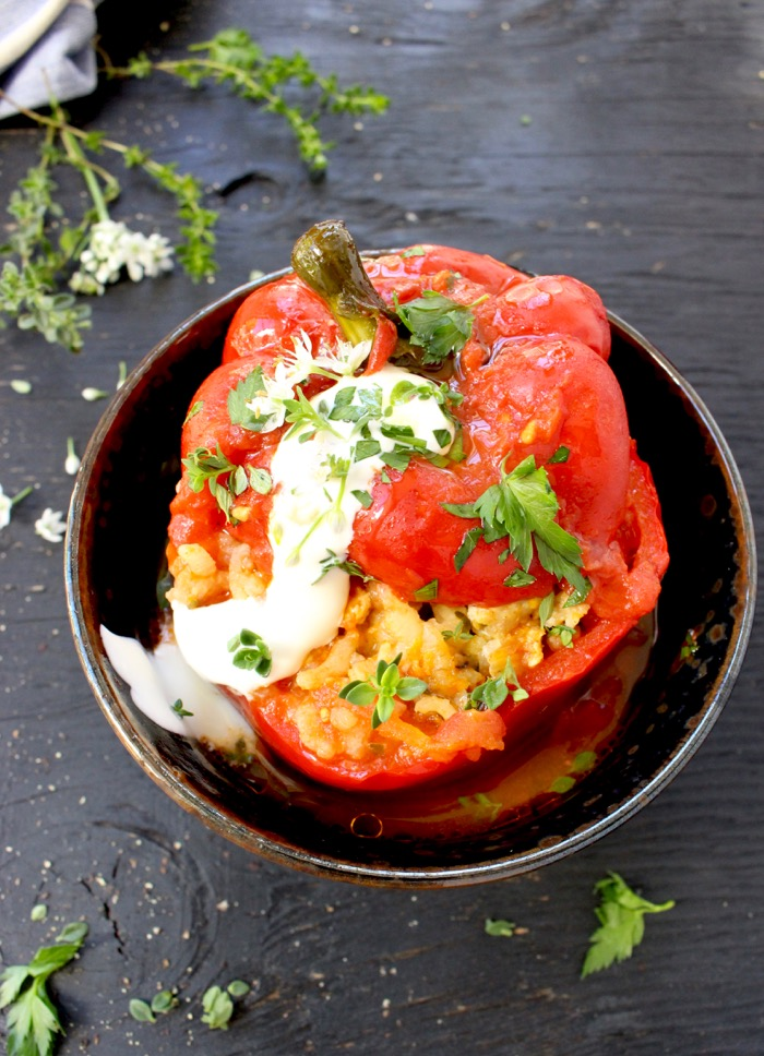 Best Vegetarian Stuffed Bell Peppers Recipe