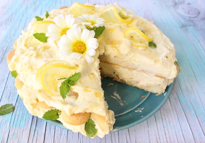 Limoncello Cake Recipe Lemon Tiramisu
