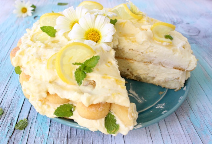 Limoncello Cake Recipe or Lemon Tiramisu