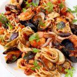 Seafood Spaghetti Recipe ( Spaghetti Frutti di Mare )