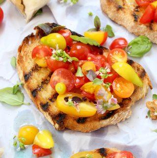 Tomato Bruschetta Recipe ( Italian Bruschetta )