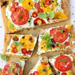 Tomato Tart Recipe with Goat Cheese & Puff Pastry