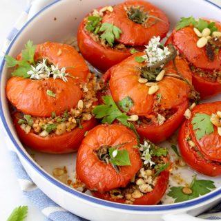 Stuffed Tomatoes Recipe Italian