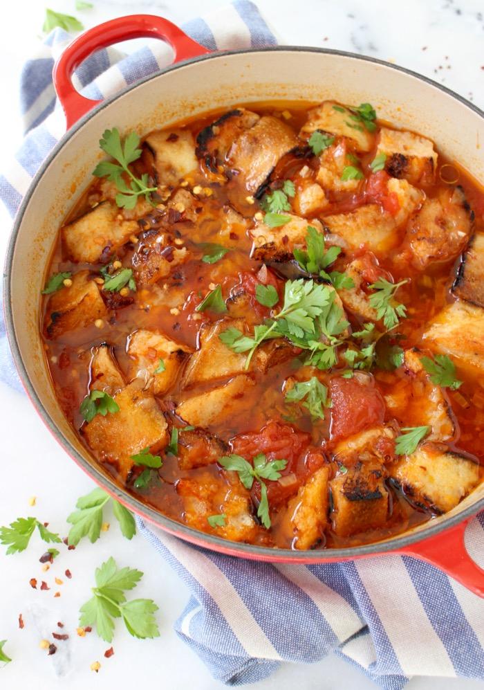 Tuscan Tomato Soup Recipe (Pappa al Pomodoro)