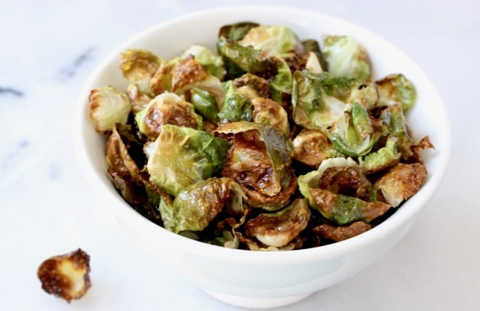How to Make Crispy Brussel Sprout Chips