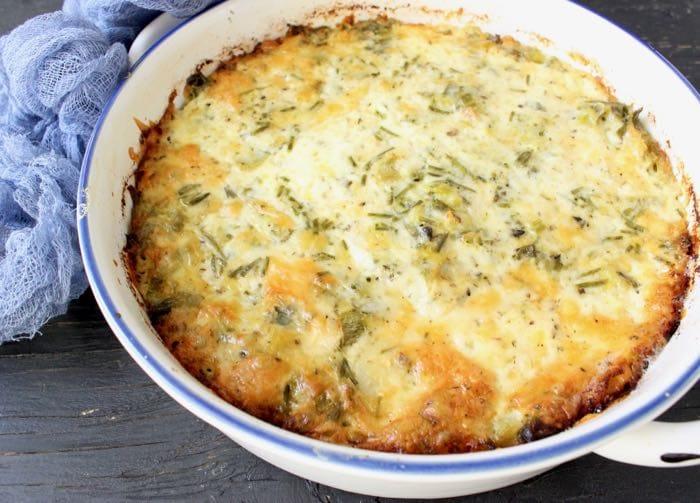 Leek Potato Gratin Recipe