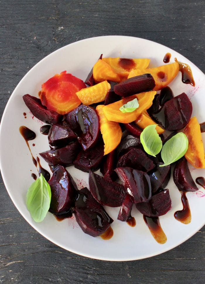lovely autumn salad make a beet hummus drizzle with balsamic glaze ...