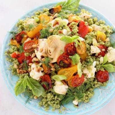 Mediterranean Quinoa Salad Recipe