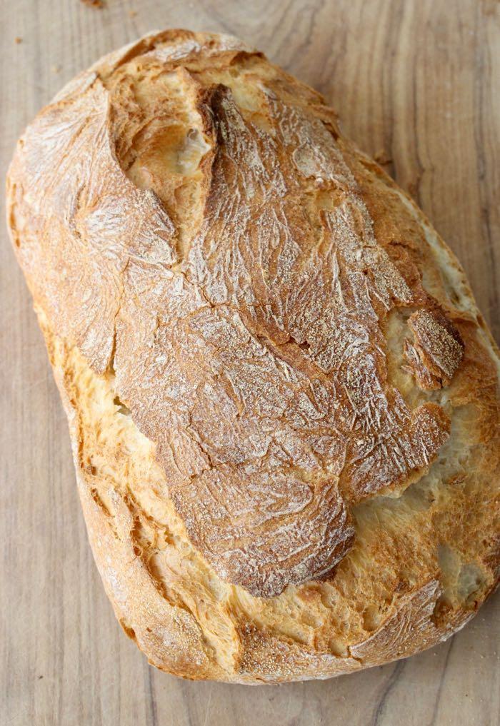 Italian Ciabatta Bread Crusty Loaf