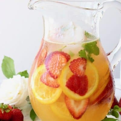 Strawberry White Wine Sangria Recipe