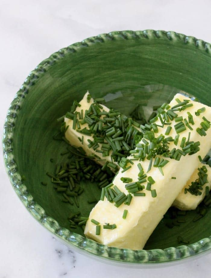 Fresh Chives and Butter