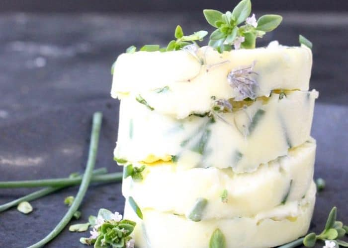 Compound Garlic Chive Butter Recipe