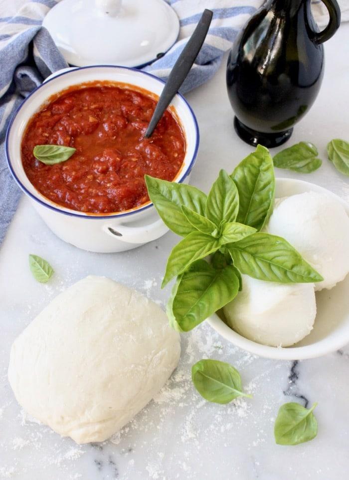 Pizza Margherita Ingredients