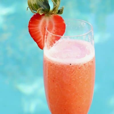Strawberry Bellini Recipe with Riondo Prosecco