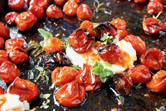 Oven Roasted Cherry Tomatoes Recipe • CiaoFlorentina