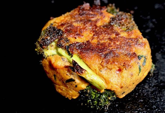 Broccoli Sweet Potato Cakes Recipe