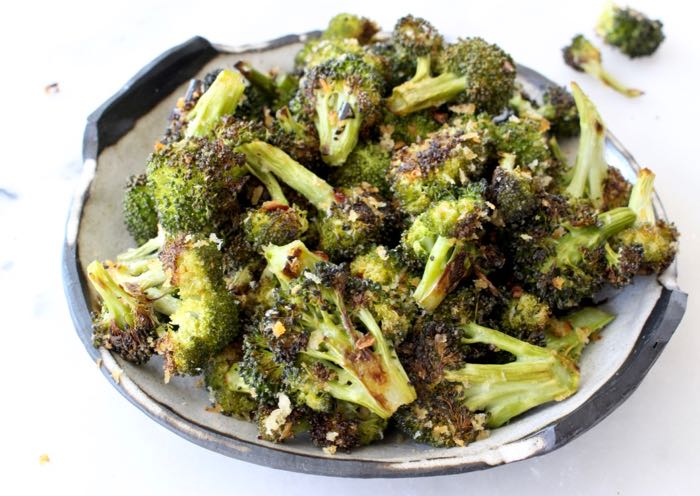 Roasted Broccoli - Vegetarian Thanksgiving Menu