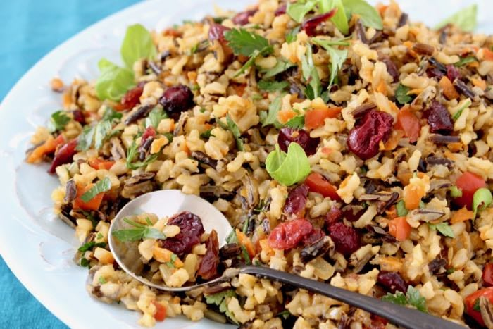 Cranberry Wild Rice Pilaf Recipe