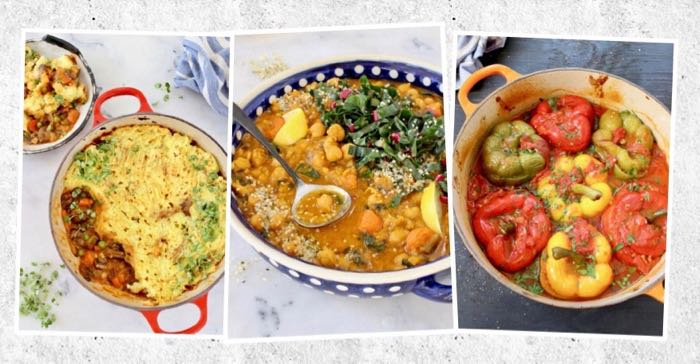 Easy Vegan Bowls of Soups and Stews