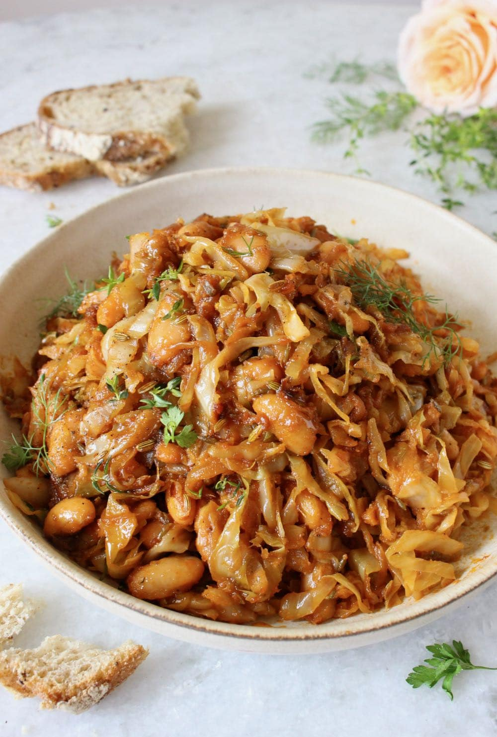Fried Cabbage and Onions
