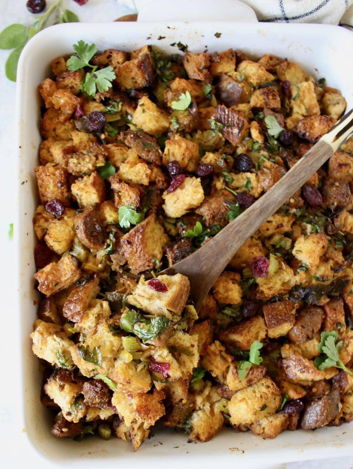 Vegetarian Thanksgiving Stuffing