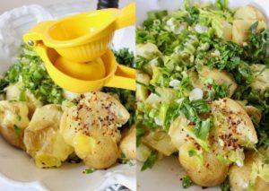 Lemon parsley potatoes ingredients