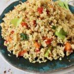 Homemade Brown Rice Pilaf